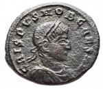 obverse: Varie - Impero Romano. Crispo. Ae da catalogare. R/ Crispo in abito militare volto a destra. Peso gr. 2,49.