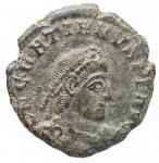 obverse: Varie - Valentiniano. Ae. Siscia. Diametro mm. 17,2. Peso gr. 2,14. Patina verde.