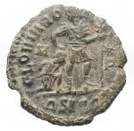 reverse: Varie - Valentiniano. Ae. Siscia. Diametro mm. 17,2. Peso gr. 2,14. Patina verde.