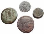 R/ Lotti - Mondo greco e Romano. Insieme di 4 pezzi in Ae.