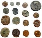 D/ Lotti - Mondo greco e Romano. Insieme di 17 pezzi in Ae.