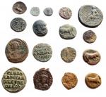 R/ Lotti - Mondo greco e Romano. Insieme di 17 pezzi in Ae.
