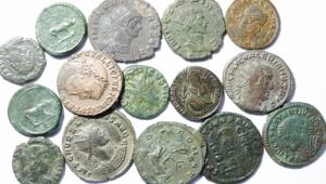 obverse: Lotti. Impero Romano. Lotto di 15 monete da Traiano a Costanzo Gallo, conservazioni discrete.