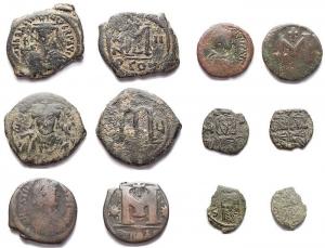D/ Lotti - Bizantini. Insieme di 6 pezzi