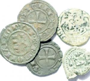 obverse: Lotti. Zecche Italiane. Lotto di 5 monete area Sud Italia, mediamente BB.w