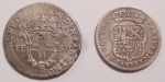 reverse: Lotti. Falsi da studio. Lotto di due monete false. Savoia e Napoli. Mediamente MB. FAKE COIN.