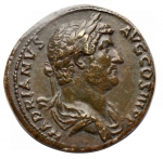 obverse: Medaglie - Paduan Style Medal imitating an Bronze Sestertius HADRIAN, A.D. 117-138. (25,06 gms.. 32,5 mm)