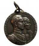 obverse: Medaglie. Savoia. Vittorio Emanuele III. Medaglie 1930, Matrimonio di Umberto con Maria Josè. SPL\FDC.\\
