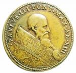 obverse: Medaglie. Roma. Paolo III. 1534-1549. Anno XII. Ae. Diametro 40,00 mm. Peso 39,16 gr. Ottimo BB.\\