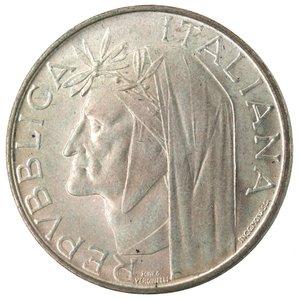 D/ Repubblica Italiana. 500 Lire 1965 Dante. Ag. Gig. 42. FDC.