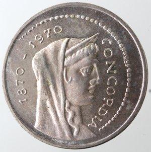 D/ Repubblica Italiana. 1.000 lire Roma Capitale 1970. Gig. 1.  FDC eccezionale. Fondi lucenti.