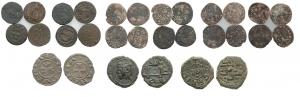 D/ Lotto 15 monete di zecche italiane soprattutto in AR (NON SI ACCETTANO RESI)