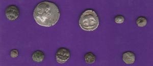 obverse: Lotto 10 monete in ARGENTO molto interessante ed eterogeneo (NON SI ACCETTANO RESI)