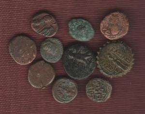 obverse: Lotto 10 monete in BRONZO molto interessante ed eterogeneo (NON SI ACCETTANO RESI)