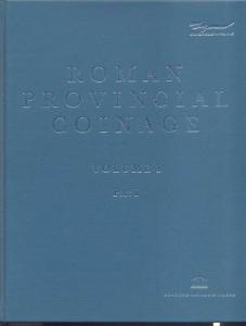 D/ AA. VV. - Roman Provincial coinage. Vol. I: from the death of Caesar to the of Vitellius ( 44BC - AD 69)2 Vol. in cofanetto. London, 1992. pp. 812, tavv. 195. ril. editoriale, buono stato, importante lavoro
