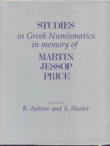 D/ AA. VV. - Sudies in Greek Numismatics in memory of Martin Jessop Price. London, 1998. pp. xv + 393, tavv. 79. ril. editoriale, buono stato. contiene importanti lavori