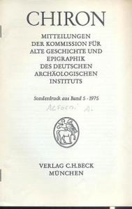 D/ ALFOLDI A. - Redeunt Saturnia regna.IV Apollo und Sibylle in der epoche der burgerkriege. Munchen, 1975. pp. 165 - 192. tavv. 18 - 39. ril. editoriale, buono stato, raro e importante