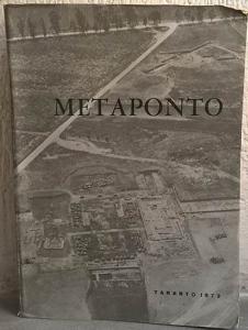 obverse: AA. VV. – Metaponto. Atti del tredicesimo convegno di studi sulla Magna Grecia. Taranto, 14-19 ottobre 1973. Napoli, 1974. pp. 568, tavv. 108 importante eraro