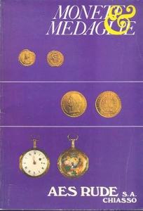 obverse: AES RUDE s.a. – Lugano, 10/11-Aprile-1981. Asta n. 6. Monete greche,romane,bizantine, medioevali e moderne, medaglie e orologi. pp. 50, nn. 1138, tavv. 61