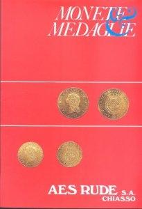 obverse: AES RUDE s.a. – Lugano, 19- Febbraio- 1988. Asta n. 13. Monete greche, romane, bizantine, medioevali, e moderne, medaglie, archeologia. pp. 46, nn. 805+ 39, tavv. 42.