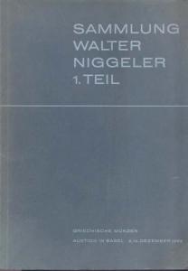 obverse: BANK LEU AG, MUNZEN und MEDAILLEN AG. - Basel 3/4 Dezember 1965. Sammlung Walter Niggler I Teil. Griechische munzen. pp. 67, nn. 554, tavv. 32.