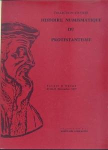 D/ BOURGEY E. - Paris 21/23 Novembre 1977. Histoire numismatique du Protestantisme (Collection Stucker). Monnaies de Lorraine ( collection R. S. et X ) pp. non numerate, nn. 955, tavv. 41. l.p.v. ril. mezza tela. importante collezione.
