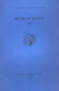 obverse: AA. VV. – The American Numismatic Society. Museum notes 33. New York, 1988. pp. 223, tavv. 25.