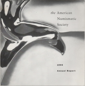 obverse: AA. VV. – The American Numismatic Society. 1995. Annual report. New York, 1995. pp. 160, ill. b/n