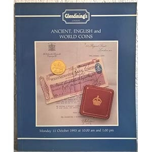 obverse: GLENDINING & Co. – London, October 11th 1993. Ancient, English and world coins. pp. 43, nn. 855, tavv. 21.