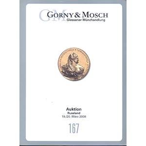 obverse: GORNY & MOSCH Auktion 167. Munchen 19/20. Marz 2008 RUSSLAND pp. 188, nn. 2254, ill. b/n importante