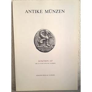 obverse: HESS A. – Luzern, 29 juni 1978. Auktion 247. Antike munzen. pp. 60, nn. 514, tavv. 20