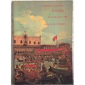 obverse: ITALPHIL SRL – Roma, 30 aprile 1986. Oselle di Venezia. pp. 34, nn. 802, tavv. 16.