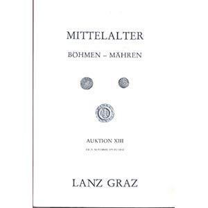 obverse: LANZ GRAZ - Auktion XIII. Graz 23 November 1979. Mitterlalter Bohmen - Mahren. pp. 34, nn. 816, tavv. 19. l.p.v.