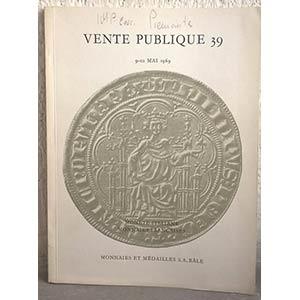 obverse: MUNZEN UND MEDAILLEN AG. – Bale, 9-10 mai 1969. Auktion 39. Monete italiane. Monnaies françaises. pp. 52, nn. 746, tavv. 44.