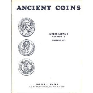 obverse: MYERS J.R. - New York. 6 December 1973. Auction n.6. Ancient coins. pp.32, nn. 482, tavv. 31. l. p. v.