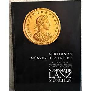 obverse: NUMISMATIK LANZ – Munchen, 6 juni 1994. Auktion 68. Munzen der antike. pp. 9190, nn. 1012, tavv. 36, tav. 1 col.