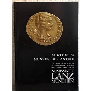 obverse: NUMISMATIK LANZ – Munchen, 20 november 1995. Auktion 74. Munzen der antike. pp. 88, nn. 961, tavv. 35, ta. 1 col.