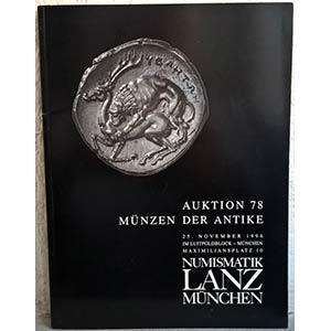 obverse: NUMISMATIK LANZ – Munchen, 25 november 1996. Auktion 78. Munzen der antike. pp. 91, nn. 983, tavv. 35.