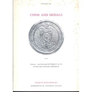 obverse: SCHULMAN J. B.V. – Amsterdam 25/28-9-1979. Coins and medals, Europe, historical & renaissance medal, books. pp. 150, nn. 3327, tavv. 72.
