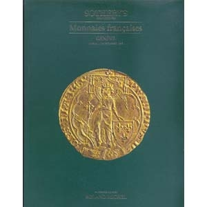 obverse: SOTHEBY S - Geneve 11 - Novembre 1985. Monnaies francaise. pp. 66, nn. 267, tutti ill. b/n + 1 tav. color.