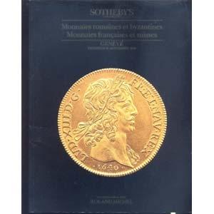 obverse: SOTHEBY S - Geneve 17- Novembre 1989. Monnaies romaines et byzantines. Monnaies francaises et suisses. pp. 90, nn. 475, ill. b/n. l.p.agg.
