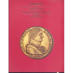 obverse: SOTHEBY S - Geneva 18 May 1990. Gold coins of the Hispanic World. pp. 90, nn. 600, tavv. 35. l.p.agg.