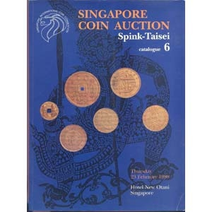 obverse: SPINK TAISEI. - Singapore 23 February 1989. A fine collection of ancient and modern world coins. pp. 64, nn. 974, tavv. 53 +4 a colori