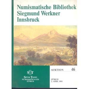 obverse: SPINK TAISEI NUMISMATICS LTD. Auktion 46. Zurich 2-Aprile, 1993. Numismatiche Bibliothek Siegmund Werkner Innsbruck. pp. 111, nn. 931, tavv. 3. importante biblioteca