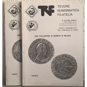 obverse: TEVERE NUMISMATICA – Erba (Co). Lotto di 2 listini di una collezione di monete di Milano (NON SI ACCETTANO RESI)