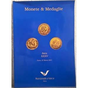 obverse: VARESI NUMISMATICA – Pavia, 27 marzo 2001. Asta XXXV. Monete e medaglie. pp. 38, nn. 621, tavv. 2 col.