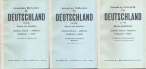 obverse: DOROTHEUM - Sammlung Hollschek: Deutschland. 3 voll. (IV-VI-VIII) Wien 1957/1958 Brossura, lotti 3721, tavv. 30