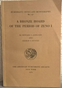 obverse: ADELSON H., KUSTAS G. L. – A bronze hoard of the periodo of Zeno I. New York, 1962. pp. 88, tavv. 2. In ANS Numismatic Notes and monographs n. 148.