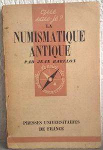 obverse: BABELON J. – La numismatique antique. Paris, 1944. pp. 127, ill. raro