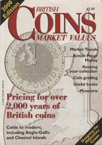 obverse: AA.VV. British Coins Market Values 2000 Edition. Brossura editoriale, pp. 162, ill. nel testo (NON SI ACCETTANO RESI)